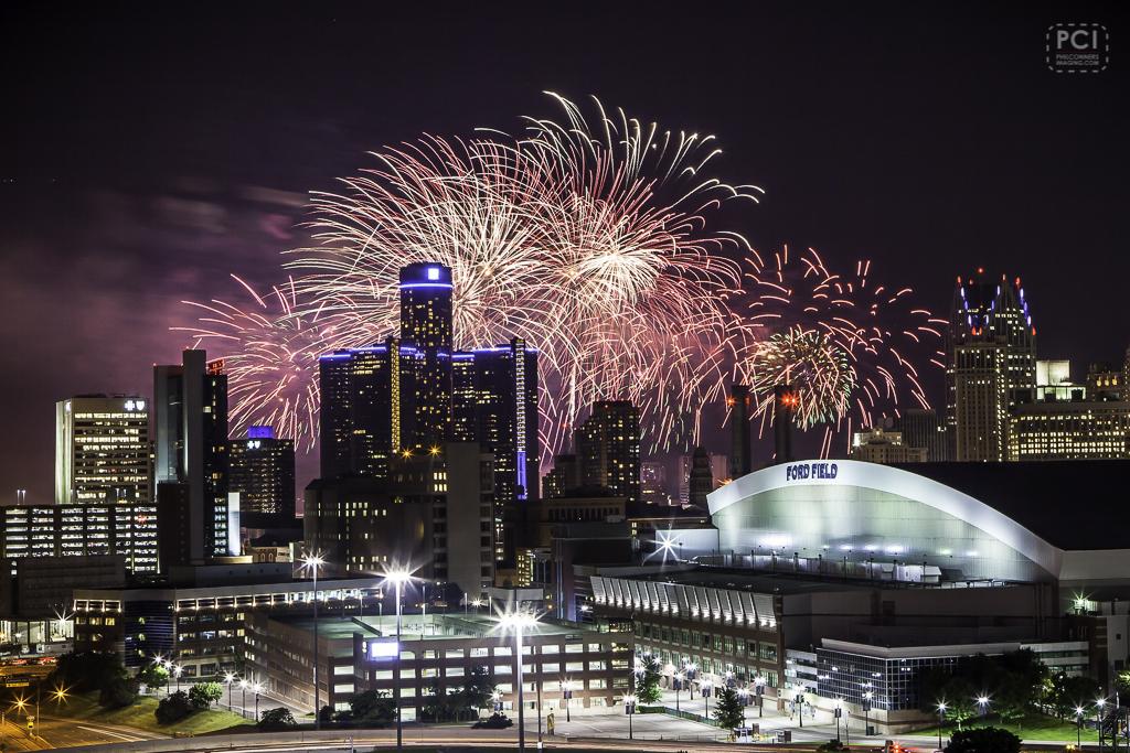 Detroit Ford Fireworks